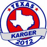 Texas Fred Karger Photo Sculpture