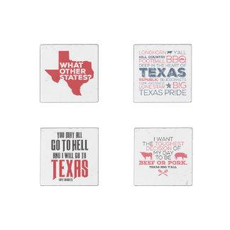 Texas Fun Magnet Set Stone Magnet