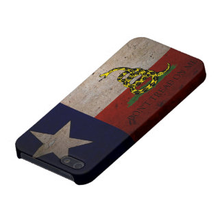 Texas Gadsden Flag for iPhone 5 Cover For iPhone 5