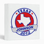 Texas Gary Johnson Binder