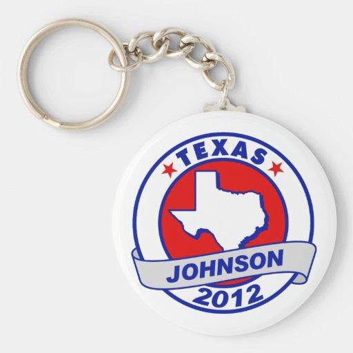 Texas Gary Johnson Keychains