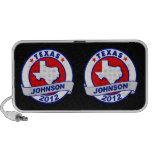 Texas Gary Johnson Mini Speakers