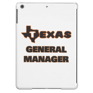 Texas General Manager iPad Air Cover