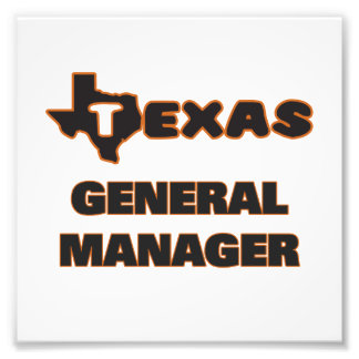 Texas General Manager Photo Print