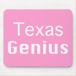 Texas Genius Gifts Mouse Pad