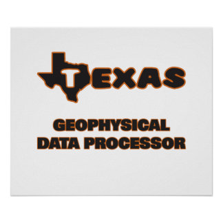 Texas Geophysical Data Processor Poster