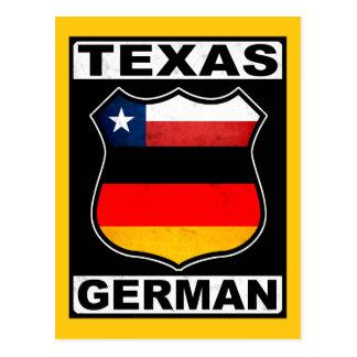 Texas German American Postcard