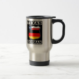 Texas German American Travel Mug