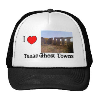 Texas Ghost Towns hat