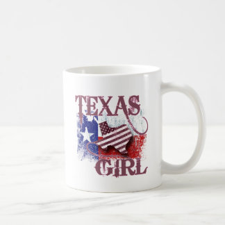 TEXAS GIRL COFFEE MUG