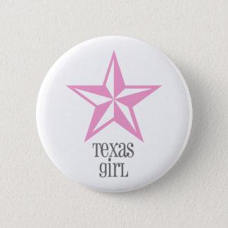 texas girl pinback button