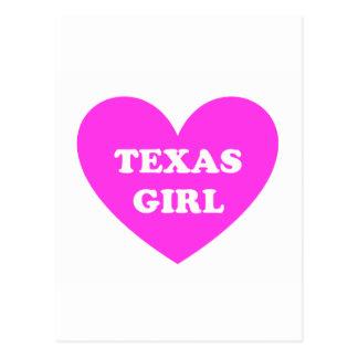 Texas Girl Postcard
