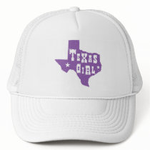 Texas Girl Trucker Hat