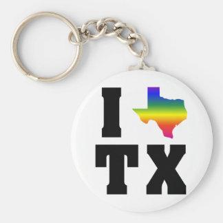 Texas GLBT Pride (2) Keychains