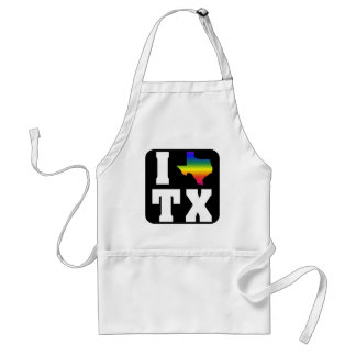 Texas GLBTQ Pride (2) Adult Apron