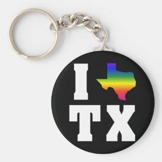 Texas GLBTQ Pride (2) Key Chains