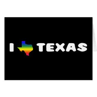 Texas GLBTQ Pride Greeting Card