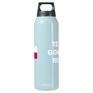 TEXAS Goalie's Rock!-Texas Flag SIGG Thermo 0.5L Insulated Bottle