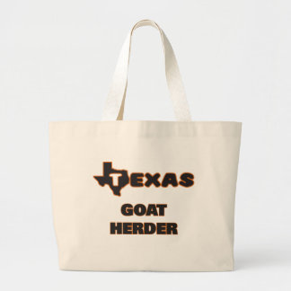 Texas Goat Herder Jumbo Tote Bag