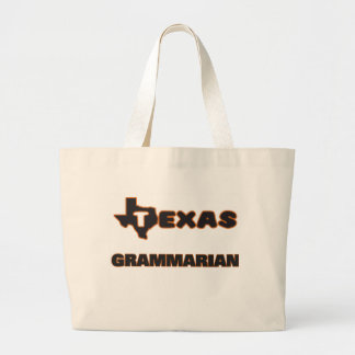 Texas Grammarian Jumbo Tote Bag