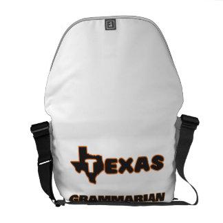 Texas Grammarian Courier Bags