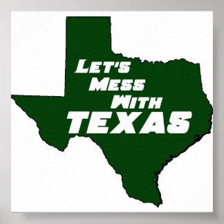 Texas Green Poster