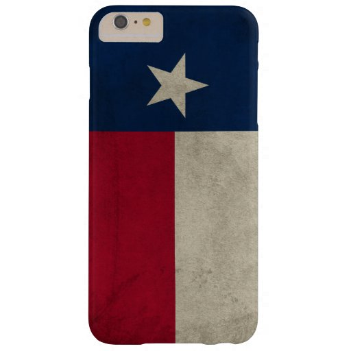 Texas Grunge- Lone Star Flag Barely There iPhone 6 Plus Case