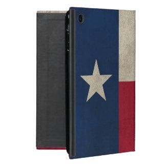 Texas Grunge- Lone Star Flag Cover For iPad Mini
