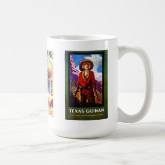 TEXAS GUINAN Three Posters Coffee Mug