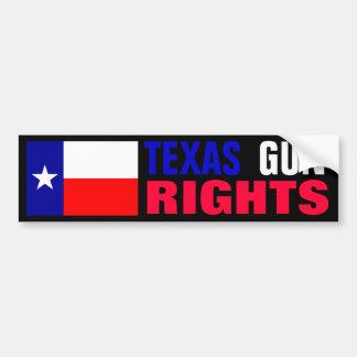 Texas Gun Rights Bumper Sticker