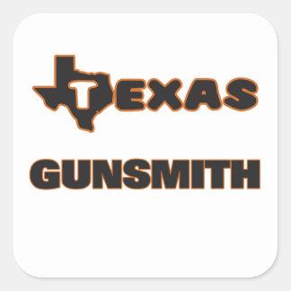 Texas Gunsmith Square Sticker