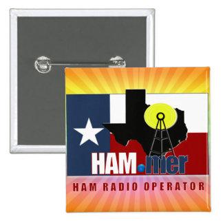 TEXAS HAM-MER AMATEUR RADIO OPERATOR PINS