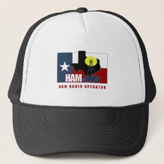 TEXAS HAM-MER AMATEUR RADIO OPERATOR TRUCKER HAT
