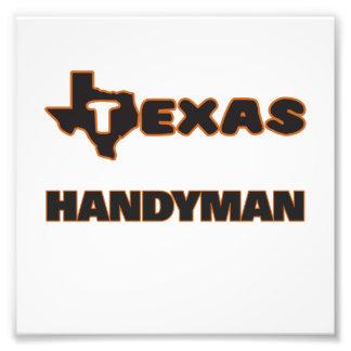 Texas Handyman Photo Print
