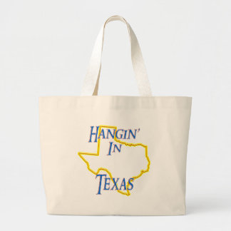 Texas - Hangin' Large Tote Bag