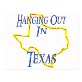 Texas - Hanging Out Postcard