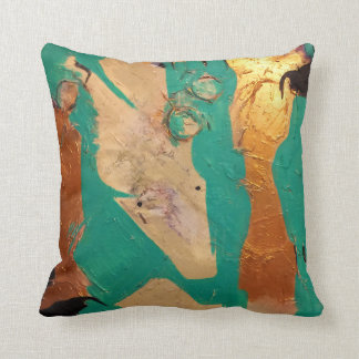 Texas Haunting Throw Pillow