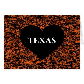 Texas Heart Greeting Card