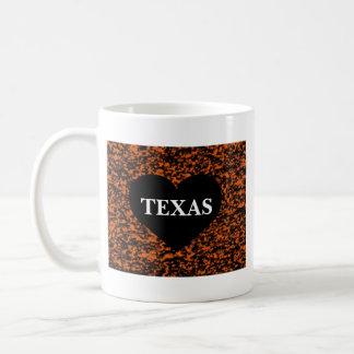Texas Heart Coffee Mug