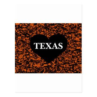 Texas Heart Postcard
