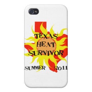 TEXAS HEAT SURVIVOR iPhone 4/4S COVERS