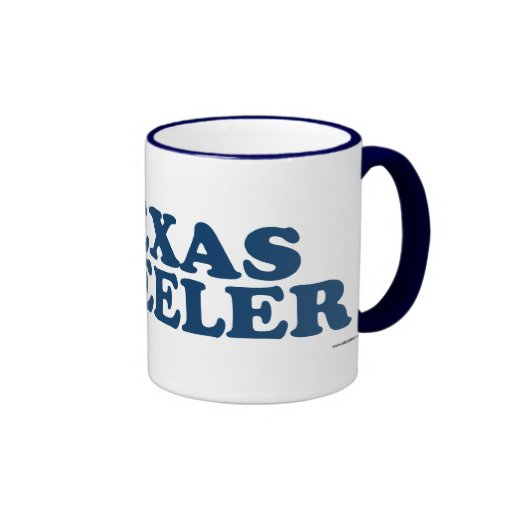 TEXAS HEELER_blue Ringer Coffee Mug