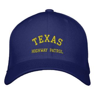 TEXAS, HIGHWAY PATROL EMBROIDERED BASEBALL CAP