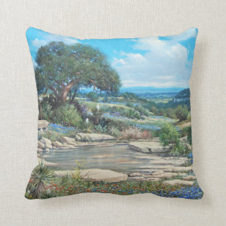 Texas Hill Country Pillow