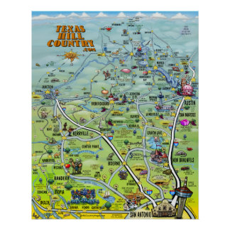 Texas Hill Country Poster 2014 Version