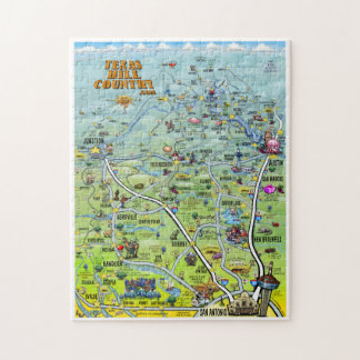 Texas Hill Country Puzzle