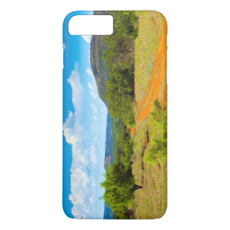 Texas Hill Country Red Dirt Road iPhone 8 Plus/7 Plus Case