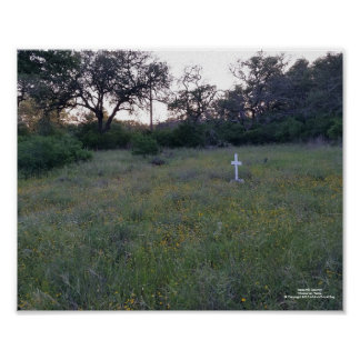 Texas Hill Country. Wimberlry, Texas Poster