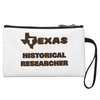 Texas Historical Researcher Wristlet Purses