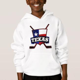 Texas Hockey Flag Logo Hoodie